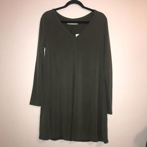 Abercrombie & Fitch - Olive Long Sleeve Dress